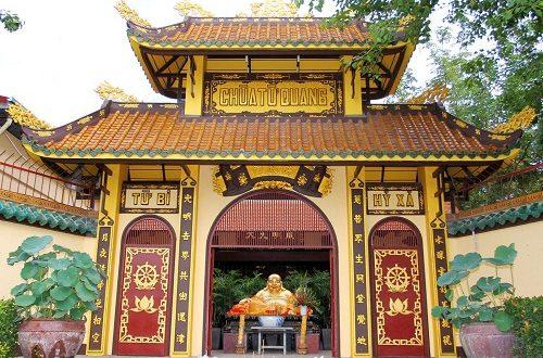 Cổng chùa Từ Quang.
