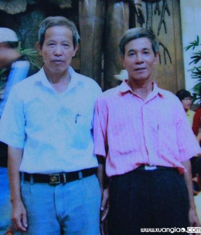 Bức ảnh ông Nguyễn Viết Thuấn hồi trẻ được gia đình dùng làm ảnh thờ khi hay tin ông hy sinh. Ảnh:Thanh Hòa.