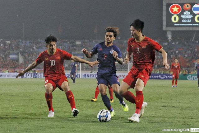 U23 Thái Lan không thể hiện được nhiều trước U23 Việt Nam
