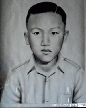Di ảnh Đinh Công Hạo hồi còn nhỏ. (Ảnh: Internet)