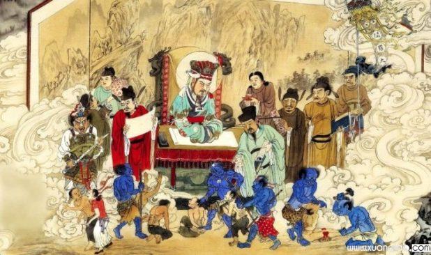 Truyền thuyết kể rằng Thiên Đế sắc phong Diêm La Vương, Diêm La Vương chưởng quản địa ngục và vệ binh ngũ nhạc. (Ảnh minh họa: youtube.com)