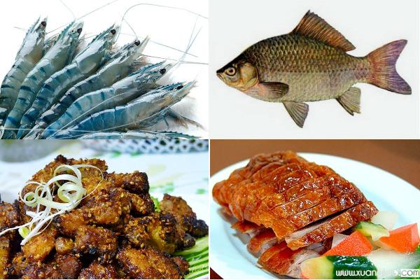 Những món ăn kiêng đầu tháng