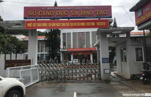 Công tác thẩm định điểm thi từng được rốt ráo thực hiện tại Sở GD&ĐT Sơn La sau khi hàng chục bài thi THPT quốc gia 2018 có dấu hiệu bị chỉnh sửa, tẩy xóa. (ảnh: Trần Thanh)