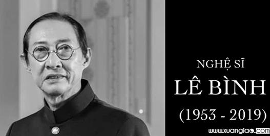 Nghệ sĩ Lê Bình hưởng thọ 66 tuổi