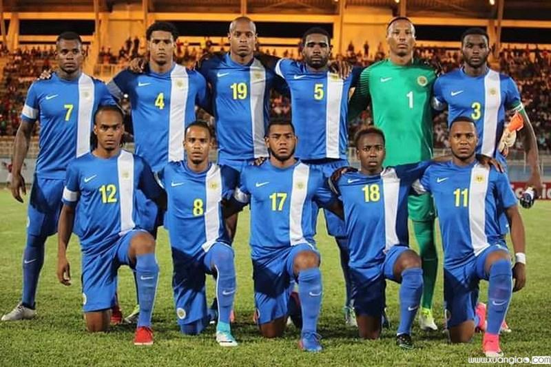 Đội hình đội tuyển Curacao có nhiều cầu thủ đang chơi bóng tại Anh và Hà Lan.