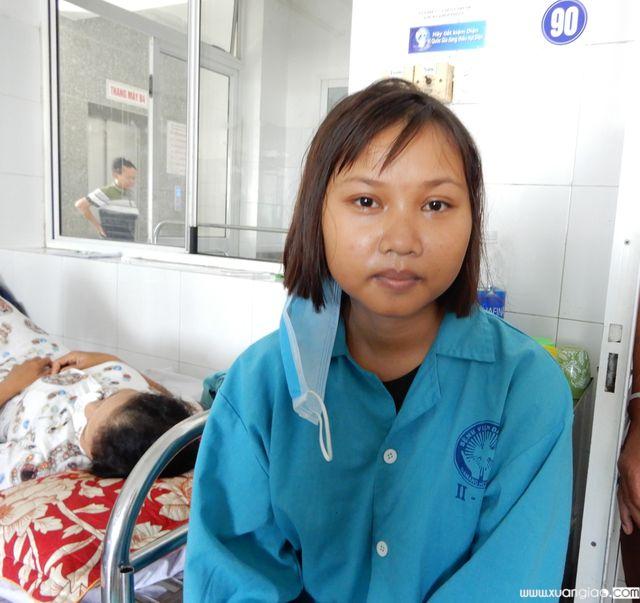 Mây đang điều trị tại Bệnh viện Đà Nẵng nhưng không biết bản thân mình đang mắc căn bệnh hiểm nghèo là ung thư máu