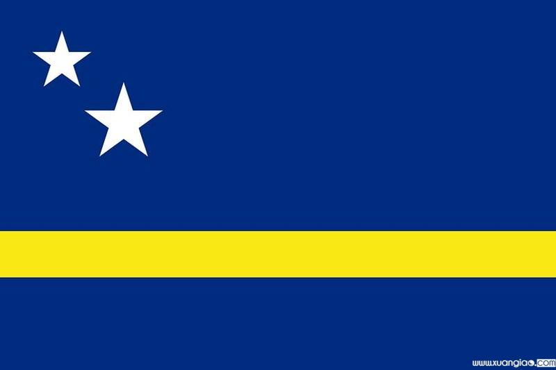 Quốc kì của Curacao.