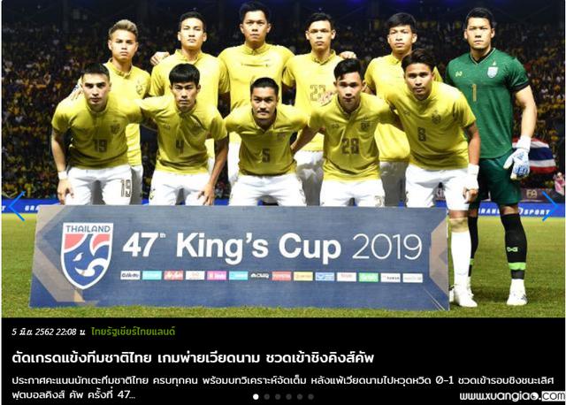 Tờ Thairath chấm điểm các tuyển thủ Thái Lan khá thấp