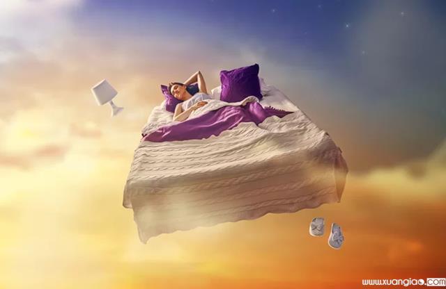 Nghiên cứu cho thấy rằng bạn có thể điều khiển giấc mơ của mình và bay tự do trên bầu trời như ý muốn.