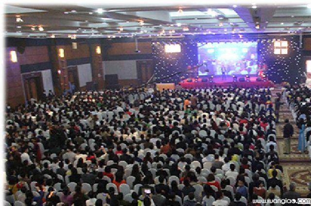 Lượng người tham gia mạng lưới BHĐC của Công ty Thăng Long rất lớn, có thời điểm lên tới gần 4 vạn người. Ảnh: dantri.com.vn