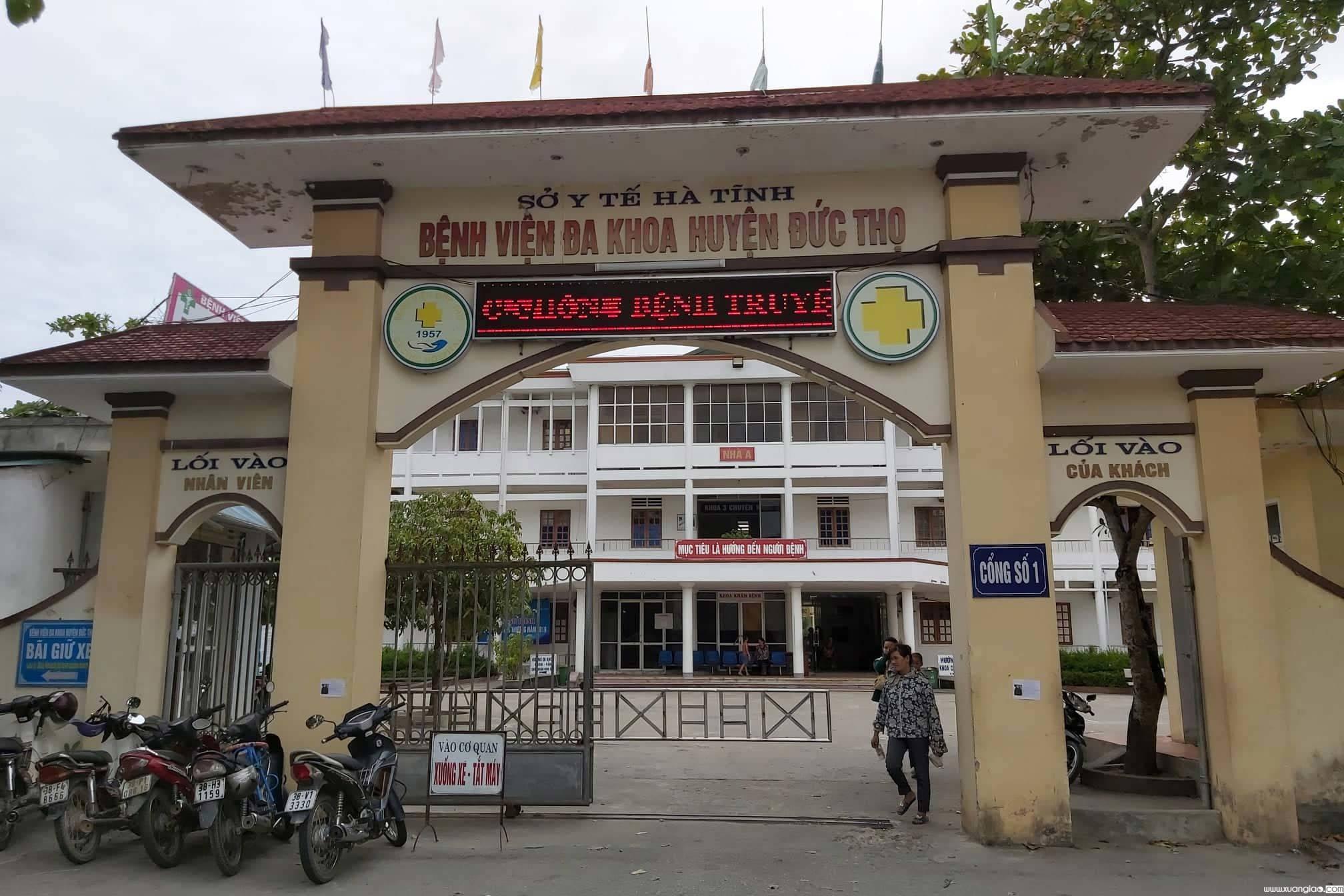 Bác sỹ Nguyễn Minh Đức, Trưởng khoa Sản BV ĐK Đức Thọ, người kéo đầu trẻ gây đứt cổ
