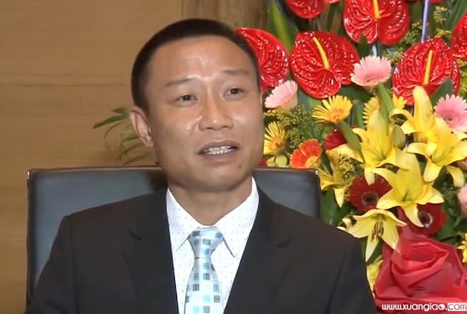 Lê Văn Quang thời điểm chưa bị bắt.