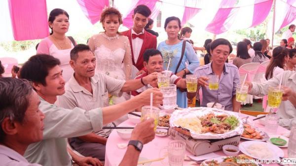 Đám cưới ở Bình Phước