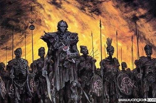 Đội quân người chết trong truyền thuyết