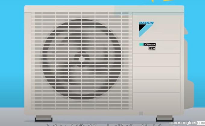 Những dàn nóng sử dụng dàn tản nhiệt Microchannel cũng giúp người dùng tiết kiệm năng lượng hơn.