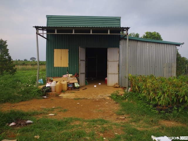 Căn nhà nơi Minh ra tay sát hại cháu vợ mình