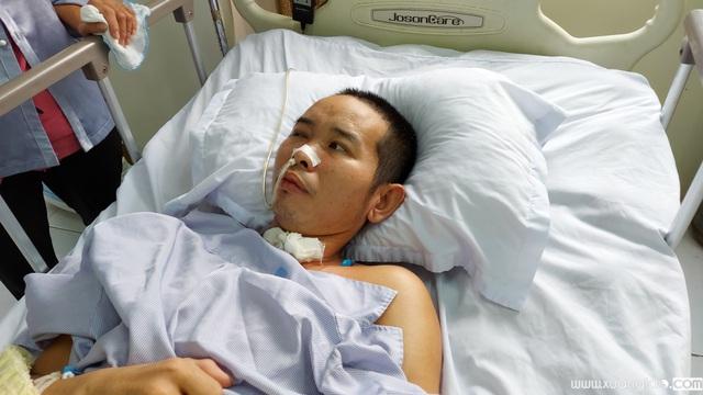 Anh Vị chấn thương sọ não, liệt tứ chi sau tai nạn.