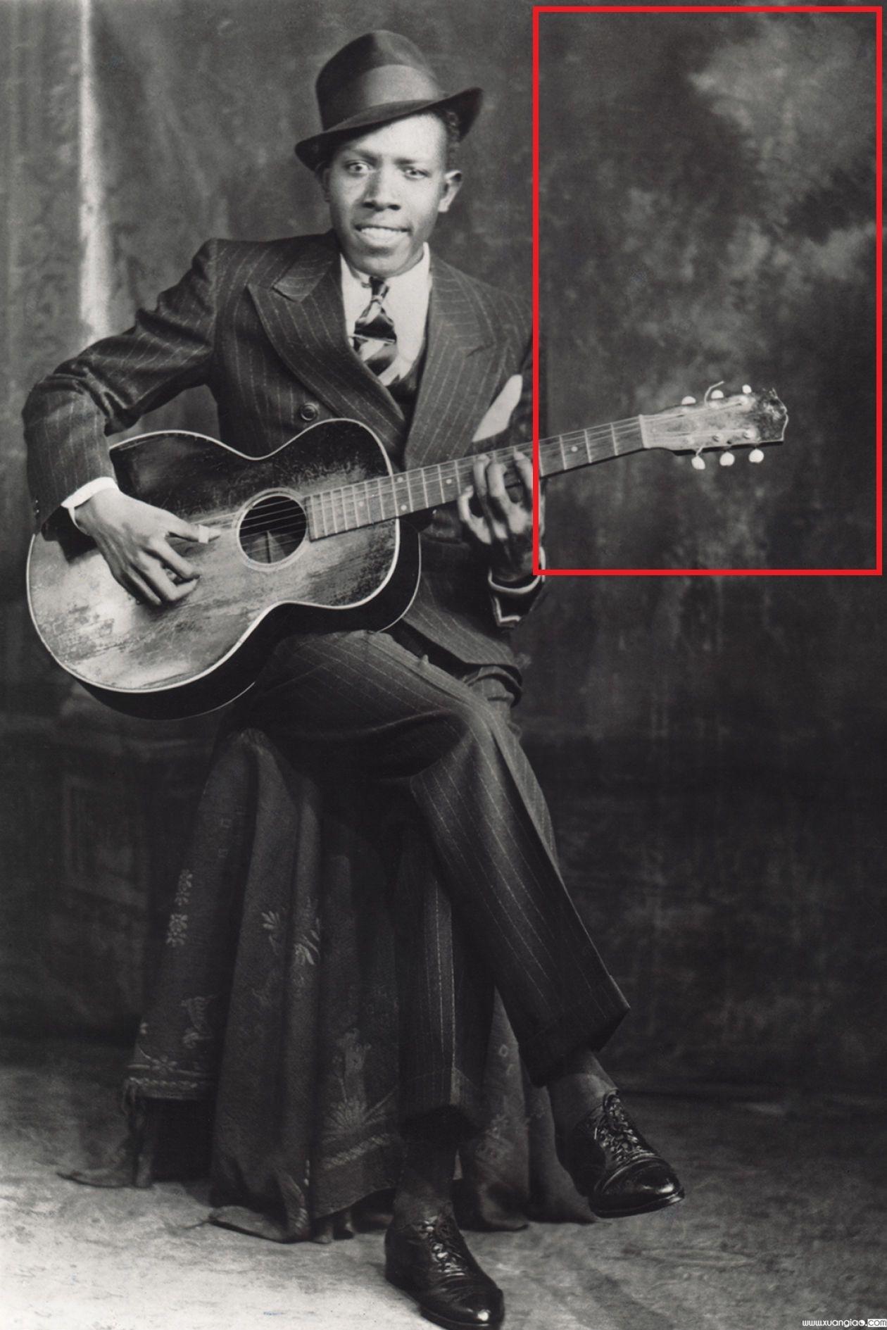Johnson đã đánh đổi linh hồn của mình để có năng lực biểu diễn âm nhạc tuyệt vời. (Ảnh qua Pinterest)